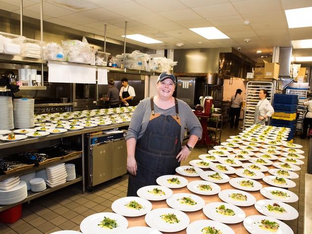 UTHealth Children's Learning Institute's fifth annual tasting dinner, chef Brandi Key