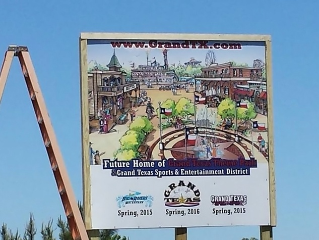 Grand Texas Sports & Entertainment District sign up May 2014