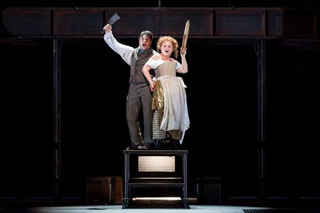 Sweeney Todd at HGO 2015 Nathan Gunn and Susan Bullock