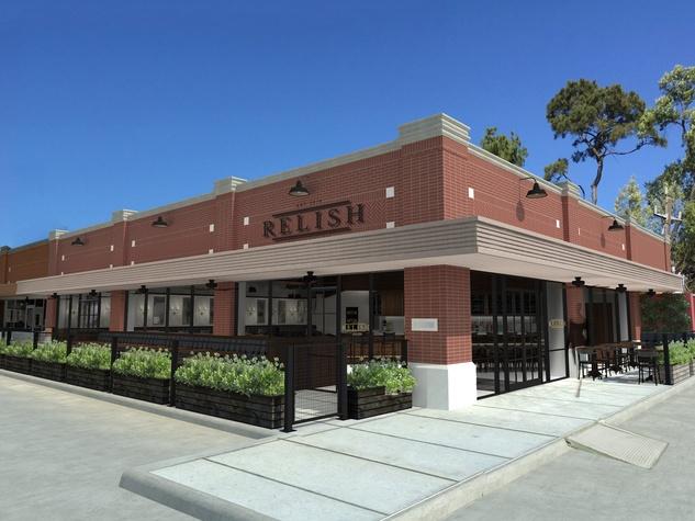 Relish Restaurant River Oaks exterior