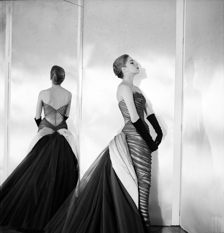 Charles James butterfly gown, 1954