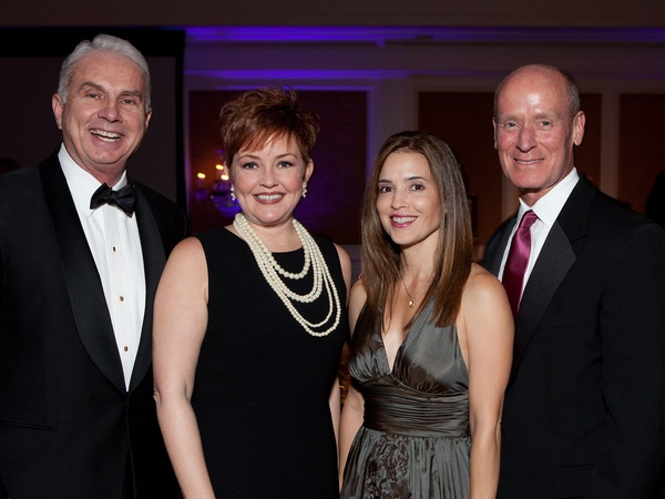 Blue Bird Circle gala, October 2012, Mark Wallace, Shannon Wallace, Nancy Calles, Dr. Mark Kline