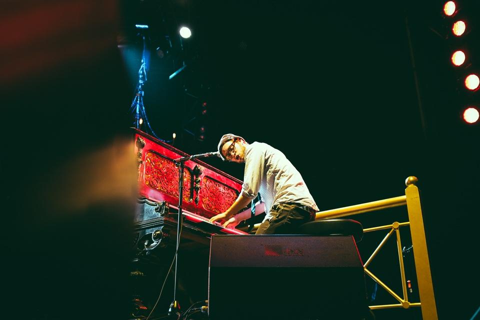 Lumineers play Austin360 Amphitheater