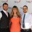Komen pink party Matthew Sellers, Cameron Cook, Aaron Lofton