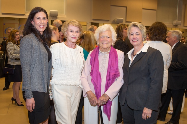 News, Celebration of Reading, Cheryl Anderson, Charlene Carroll, Barbara Bush, Annise Parker, April 2014