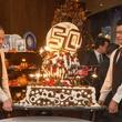 News, Shelby, Tony's 50th, Nov. 2015, ice cream bombe