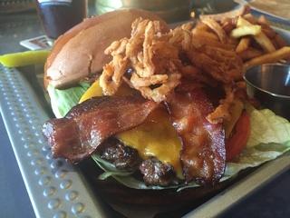 Bovine and Barley burger