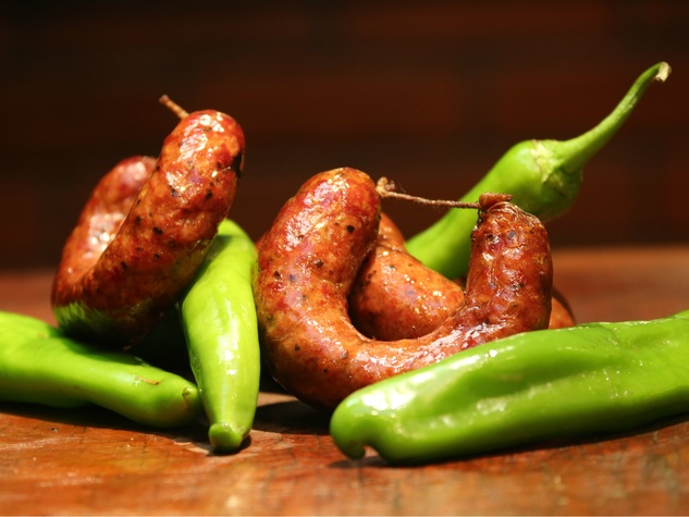 Black's Barbecue hatch chile