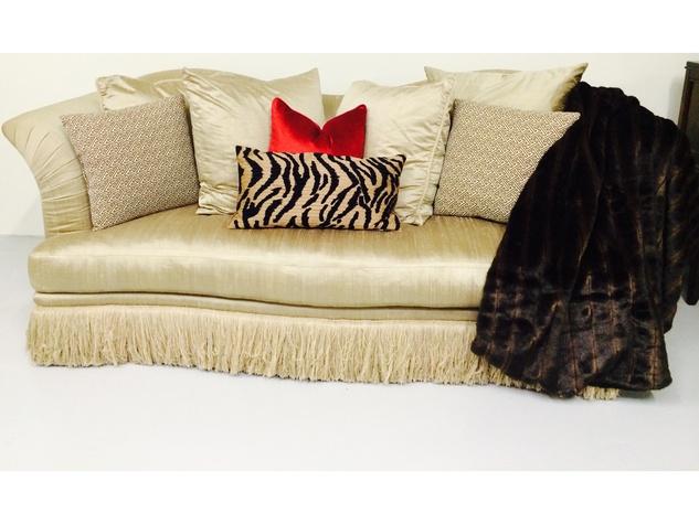 Buy Design Exchange December 2014 silk couch