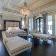 Master bedroom at 9625 Preston Rd. in Dallas