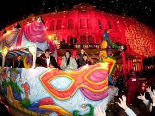 Tremont House Mardi Gras Ball & Parade Viewing Party