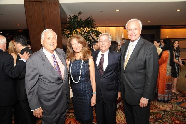 Houston, Tapestry Gala, May 2015, Arthur Schechter, Neda Ladjevardian, Fred Zeidman, Bill King