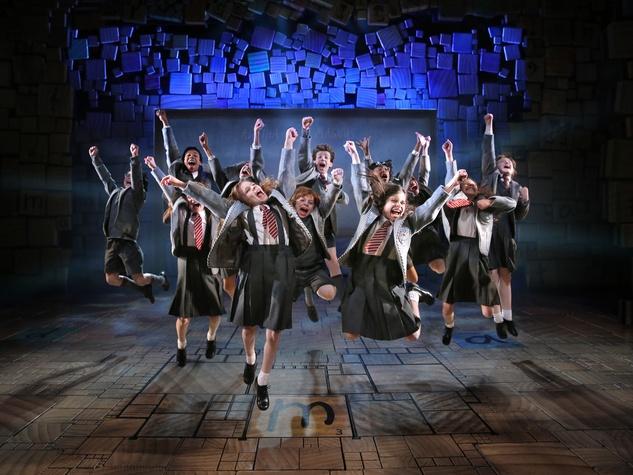 TUTS 2015-2016 season announcement February 2015 Matilda the Musical