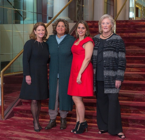 An Evening with Anna Deavere Smith: NJ Pierce, Anna Deavere Smith, Amy McGuire, Nancy Dunlap
