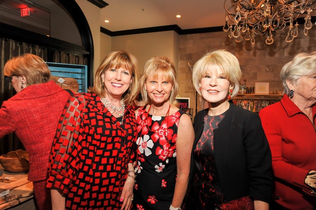 Houston, News, Shelby, Go Red For Women, April 2015, Lu Caltagarone, Linda Rogers, Virgina Steppe