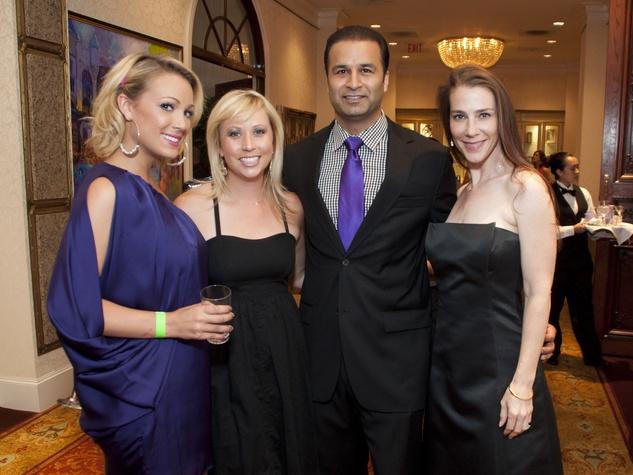 002_Starlight gala, Fashion Show, June 2012, Tana Frnka, Laura Fields, Dr. Akash Bhagat, Dr. Elizabeth Fair