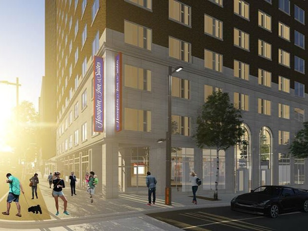 Hampton Inn downtown Dallas