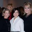 Elizabeth Kimzey, from left, Jordan Folloder and Cristina Cramer at the Spring Branch Education Foundation luncheon November 2014