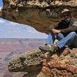 Mark Burns at Grand Canyon