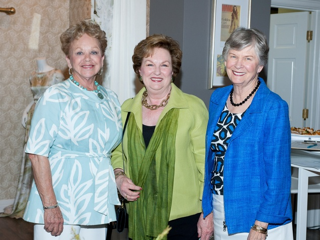 Houston Covenant House Spring Fling May 2013 Mary Ann Rapp, Linda Knapp and Peggy Edwards