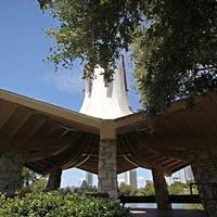 Austin_photo: places_outdoors_woment in construction pavilion_exterior
