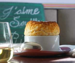 Souffle at Rise No. 1 restaurant in Dallas