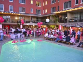 Party in Pink Hotel ZaZa July 2013 venue