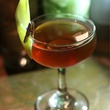 Mike Steele's drink at Woodford Reserve Manhattan party