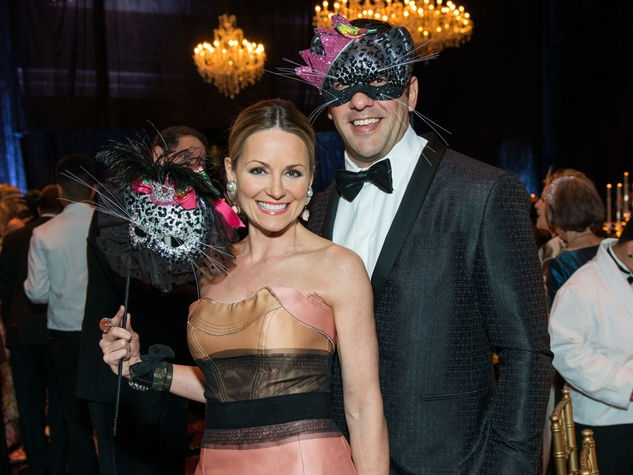 28 Lucinda and Javier Loya at the Houston Ballet Ball February 2015
