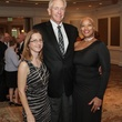 Laura Laase, left, with Ed and Lawanda Laase at the Houston Hospice dinner October 2013