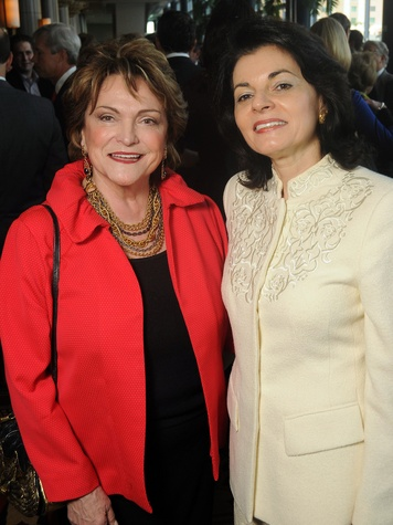 23 Beth Wolff, left, and Ursula Muenzel at the Guardian luncheon November 2013