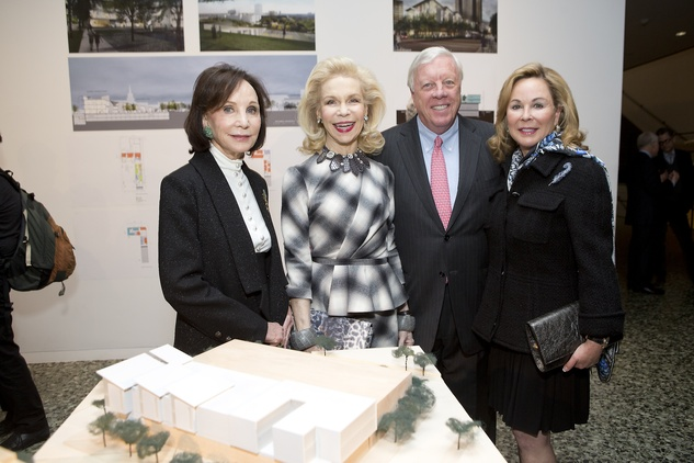 News, Shelby, Museum of Fine Arts donor dinner, Cornelia Long, Lynn Wyatt, Jan. 2015