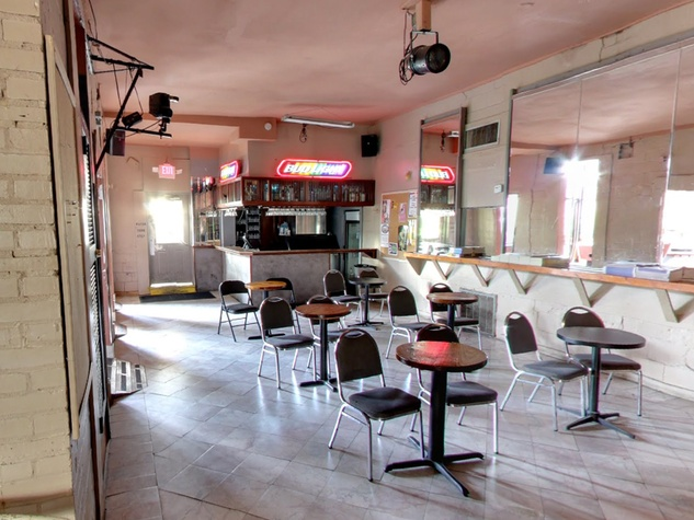 EJ's Bar Houston interior empty