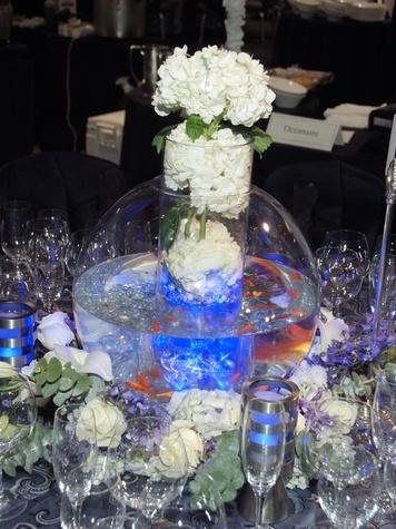 25 Centerpiece for Oceanaire's table at the Bon Vivant Dinner January 2014