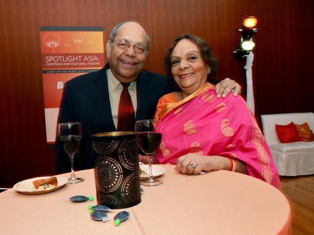 2 0550 Nat and Leela Krishnamurthy at the Asia Society Spotlight Asia party April 2014