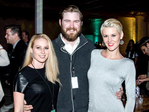 English Mintor, Aaron Dillard, Nicole Horn,  the pin show