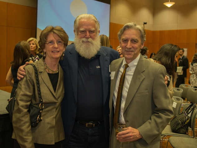 Private Reception Honoring James Turrell Patricia Clubb; James Turrell; Douglas Dempster