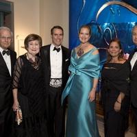 Museum of Natural Science gala, March 2016, Harry Mach, Cora Sue Mach, Steve Mach, Joella Mach, Carmen Mach, Butch Mach