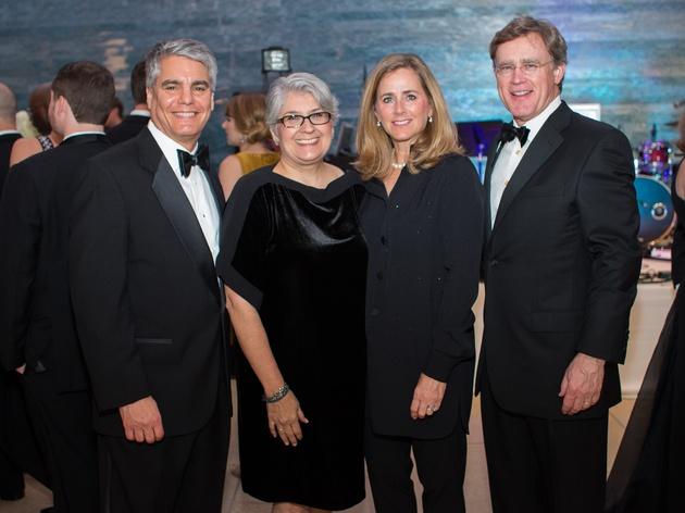 Blanton Museum of Art Gala 2017 Greg Fenves Carmel Fenves Stacey Branch Dan Branch