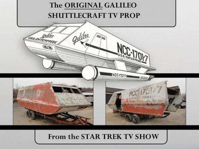 Star Trek Enterprise before restoration