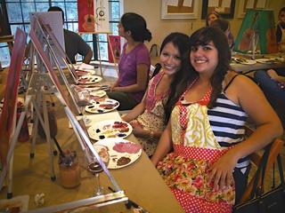GeeBerry girls art class