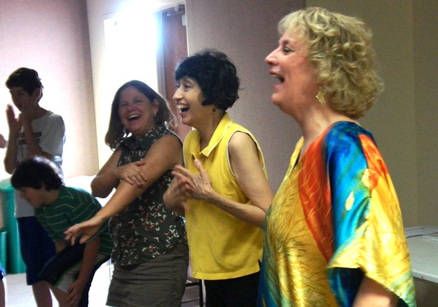Laughter Yoga heights library