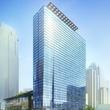 The eastern facade rendering of the JW Marriott Austin