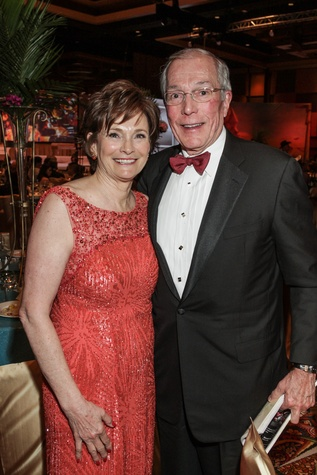 Bobbie and John Nau at the Winter Ball January 2015