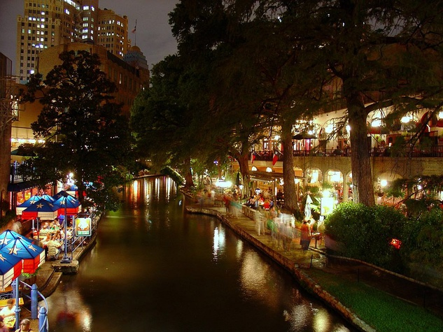San Antonio, downtown, River Walk