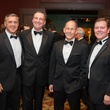 John Granmayeh, from left, Ralph Burch, Stephen Elison and Bill Way at the Alley Theatre Wild Things Dinner October 2014