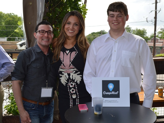 GruupMeet team at Tech Wildcatters Pitch Day 2014