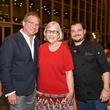News, Shelby, Casa de Esperanza dinner, April 2015, Michael Cordua, Kathy Foster, David Cordua