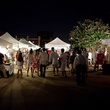 White Linen  Night, First Saturday Art Market, the Heights