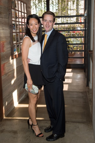 Ballet Barre dinner, April 2013, Ting Breshnahan, John Bresnahan